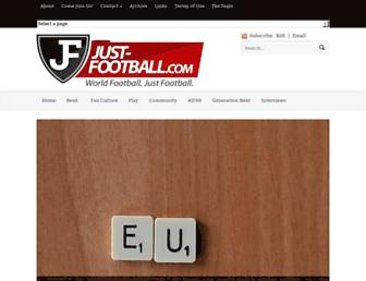 just-football.com screenshot