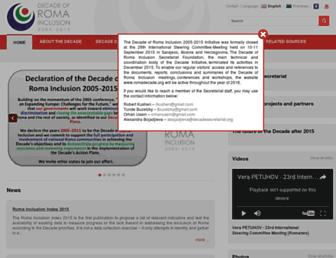 romadecade.org screenshot