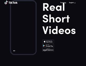 m.tiktok.com screenshot