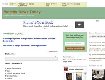 Thumbshot of Ereadernewstoday.com