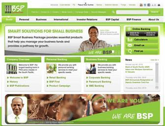 Thumbshot of Bsp.com.pg