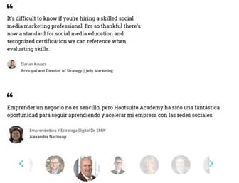education.hootsuite.com screenshot