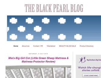 Thumbshot of Theblackpearlblog.com