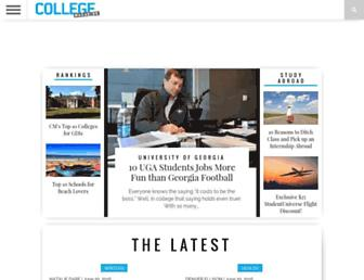 collegemagazine.com screenshot