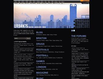urban75.org screenshot