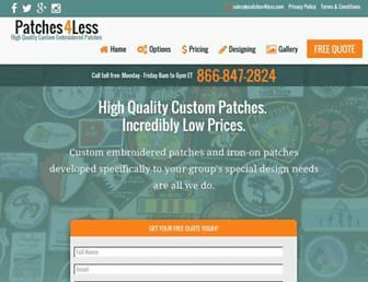 patches4less.com screenshot