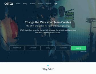 Thumbshot of Celtx.com