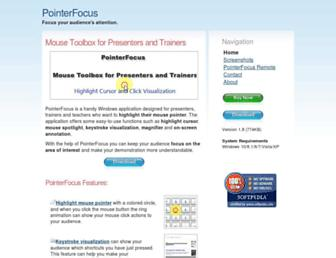 pointerfocus.com screenshot
