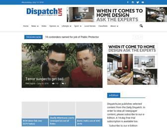 dispatchlive.co.za screenshot