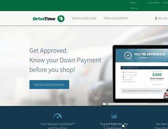 mobile.drivetime.com screenshot