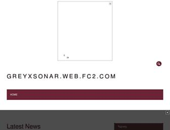 greyxsonar.web.fc2.com screenshot