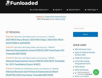 funloaded.org.ng screenshot