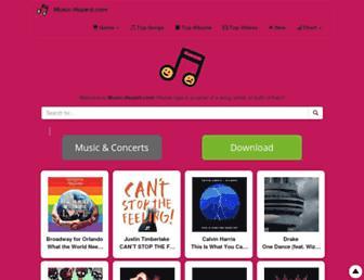 music-hazard.com screenshot