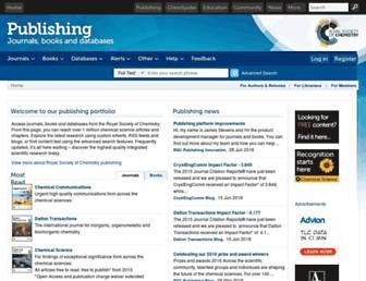 xlink.rsc.org screenshot