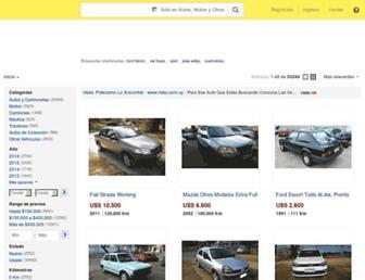 vehiculos.mercadolibre.com.uy screenshot