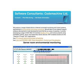 thecodemachine.co.uk screenshot