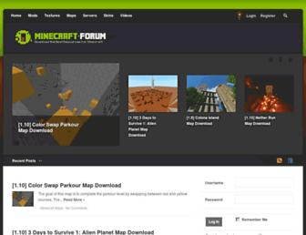 minecraft-forum.net screenshot