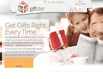 Thumbshot of Giftster.com