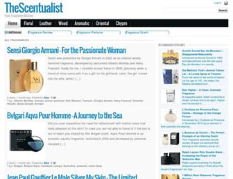 thescentualist.com screenshot