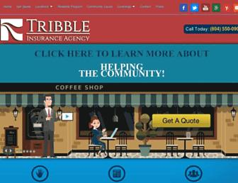 tribbleinsuranceagency.com screenshot