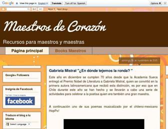 maestrodecorazontalosh.blogspot.com screenshot
