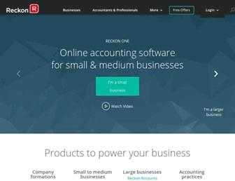 reckon.com screenshot