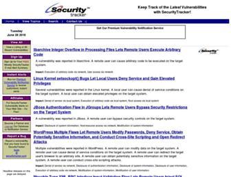 securitytracker.com screenshot