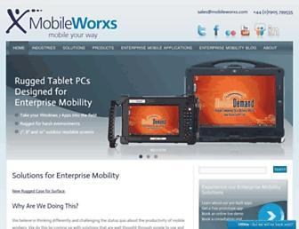 mobileworxs.com screenshot