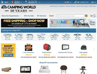 Fullscreen thumbnail of campingworld.com
