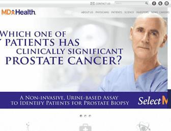 mdxhealth.com screenshot