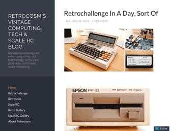 Thumbshot of Retrocosm.net