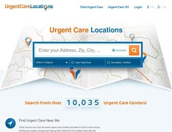Thumbshot of Urgentcarelocations.com