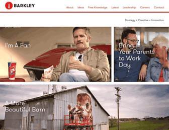 Thumbshot of Barkleyus.com