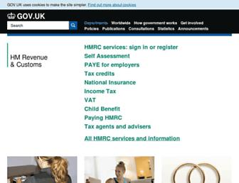 Thumbshot of Hmrc.gov.uk