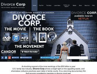 Thumbshot of Divorcecorp.com