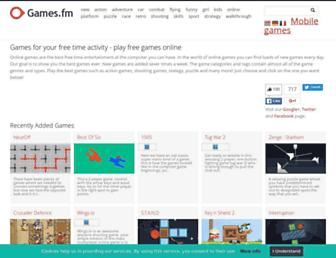 games.fm screenshot