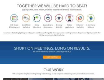 socialbeat.in screenshot