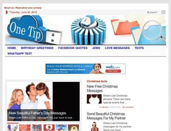 onetip.net screenshot