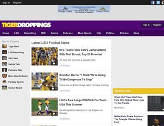 tigerdroppings.com screenshot
