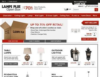 Thumbshot of Lampsplusopenbox.com