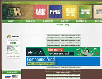 Thumbshot of Allhyip.net