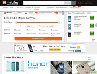Thumbshot of 91mobiles.com