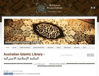 australianislamiclibrary.org screenshot