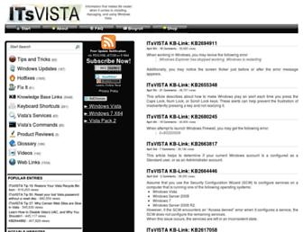 itsvista.com screenshot