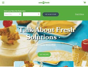 saveonfoods.com screenshot