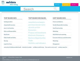 meltdata.com screenshot
