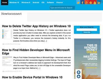 howto-connect.com screenshot
