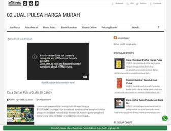 jual-pulsa-harga-murah.blogspot.com screenshot