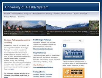 Thumbshot of Alaska.edu