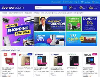 abenson.com screenshot